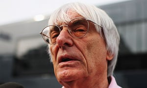 Bernie Ecclestone Formula One US Grand Prix