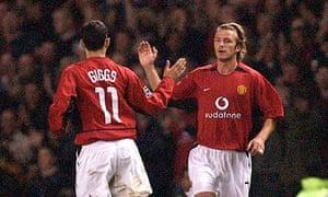 Ryan Giggs David Beckham Olympic Football