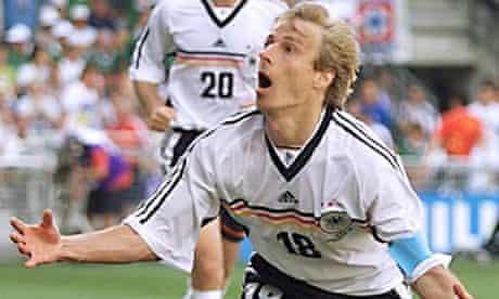 Jurgen Klinsmann in France 1998