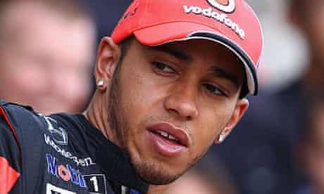 Lewis Hamilton, the McLaren driver