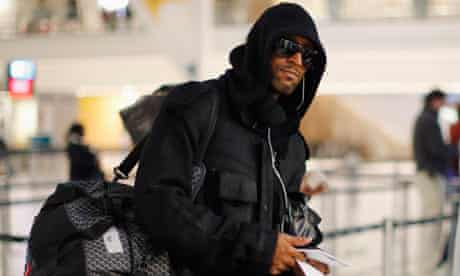 Nicolas Anelka leaves the 2010 World Cup in South Africa early