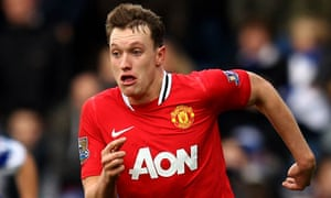 Phil Jones in action for Manchester United