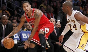 15aeded58bd Chicago Bulls  Derrick Rose and Los Angeles Lakers  Kobe Bryant