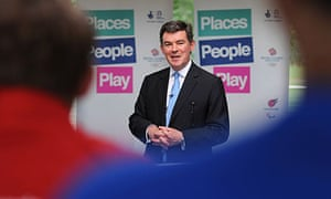The sports minister, Hugh Robertson