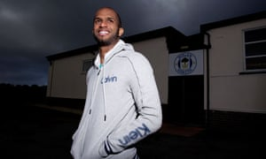 Wigan Athletic's Omani goalkeeper, Ali Al-Habsi, at the club's training ground in Standish