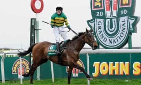 Tony McCoy wins the Grand National