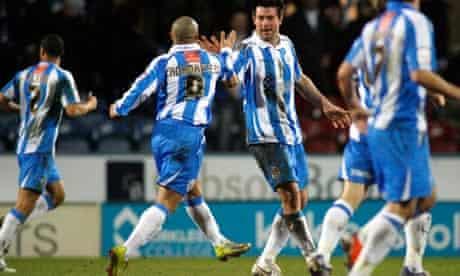 Huddersfield v Carlisle, Johnstone's Paint (3-4 on agg)