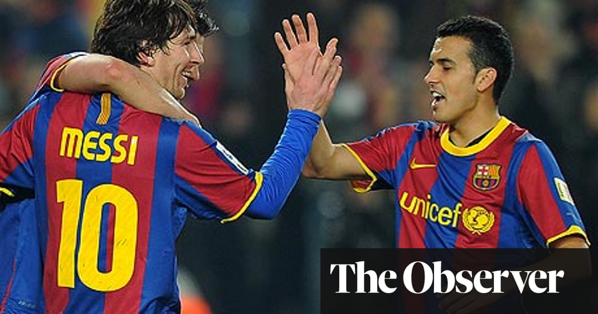He is Pep Guardiola's pet but Pedro remains in the Barcelona