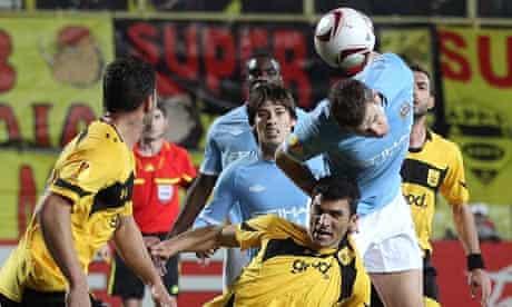 Edin Dzeko Aris Salonika Manchester City Europa League