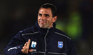 Gus Poyet, the Brighton & Hove Albion manager