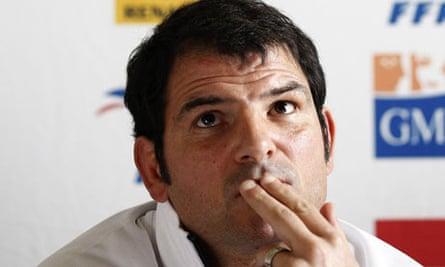 France coach Marc Lièvremont - Rugby Union - Six Nations 2011