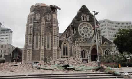 New Zealand earthquake Christchurch