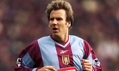 Paul Merson at Aston Villa