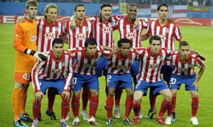 Atletico Madrid before the Europa League final