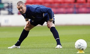Kenny Miller is the oldest player in the current Scotland squad at 31