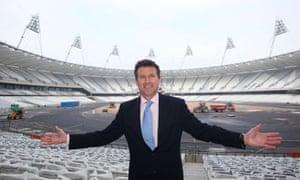 Sebastian Coe, London 2012 Chairman, 500 days to go