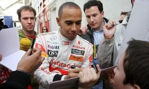 Lewis Hamilton McLaren Red Bull