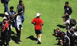 Sachin Tendulkar's penchant for walking has long been the focus of media scrutiny