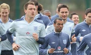 John Terry England training