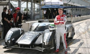 Allan McNish with Audi R18
