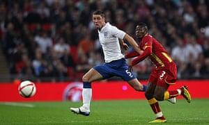 Gary Cahill Asamoah Gyan Ghana England