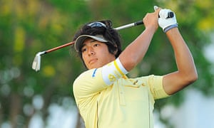 The Japanese golfer Ryo Ishikawa