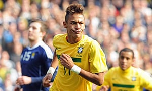 The Brazil forward Neymar