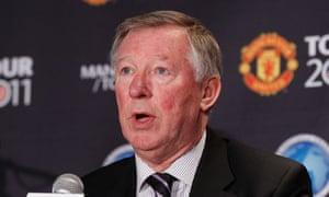 Sir Alex Ferguson respect