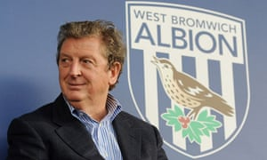 The West Bromwich Albion manager Roy Hodgson