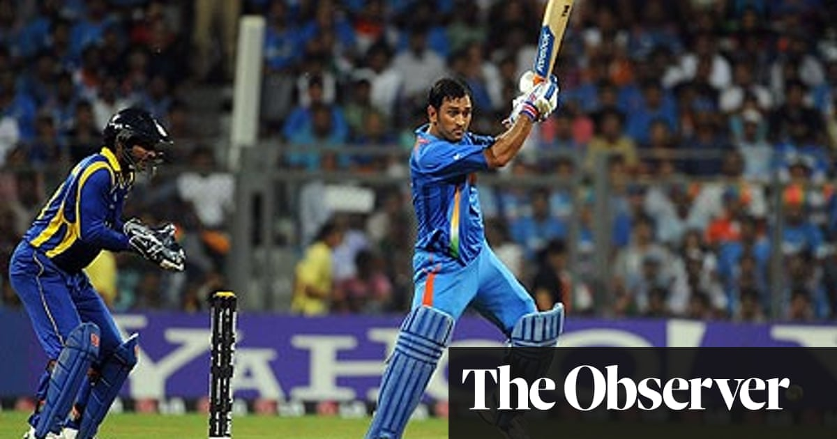 Mahendra Dhoni Steers India Past Sri Lanka In Cricket World