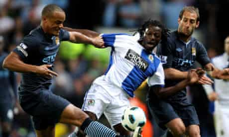 Blackburn Man City