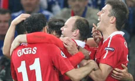Giggs, Rooney, Carrick