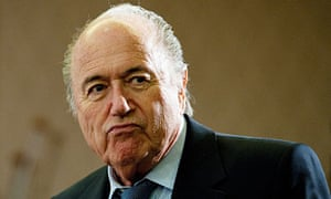 Sepp Blatter, the Fifa president