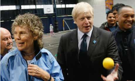 Boris Johnson And Kate Hoey