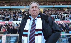 Gerard Houllier, the Aston Villa manager