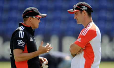 Andy Flower and Andrew Strauss could select a giant attack for the second Test with Sri Lanka