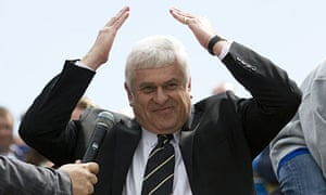 Peter Ridsdale, the former Cardiff City chairman