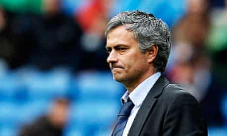 The Real Madrid coach, José Mourinho
