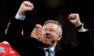 Manchester United v Schalke 04 - UEFA Champions League Semi Final