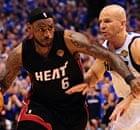 LeBron James Miami Heat v Dallas Mavericks