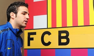 Cesc Fábregas has suffered from 'wear and tear' according to Barcelona president Sandro Rosell
