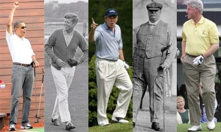 US presidents golf