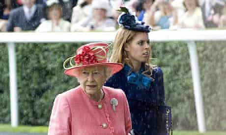 The Queen and Princess Beatrice