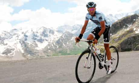Alberto Contador, Tour de France cyclist
