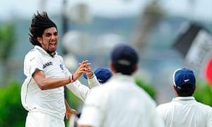 India's pace bowler Ishant Sharma