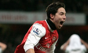 Arsenal's Samir Nasri has attracted the attention of Chelsea who are considering an approach