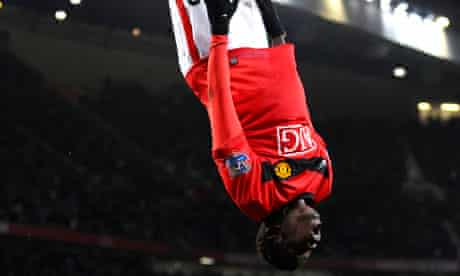 Manchester United's Mame Biram Diouf was guilty of a strange disappearing act before his wedding