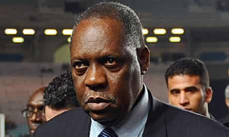 Confederation of African Football (CAF) president Issa Hayatou