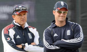 England's Test captain Andrew Strauss and coach Andy Flower have considerations to make