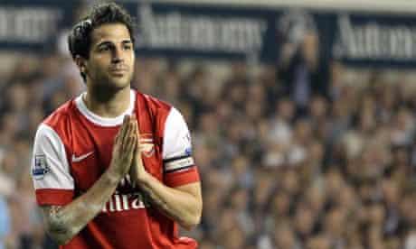 Cesc Fabregas Arsenal Barcelona